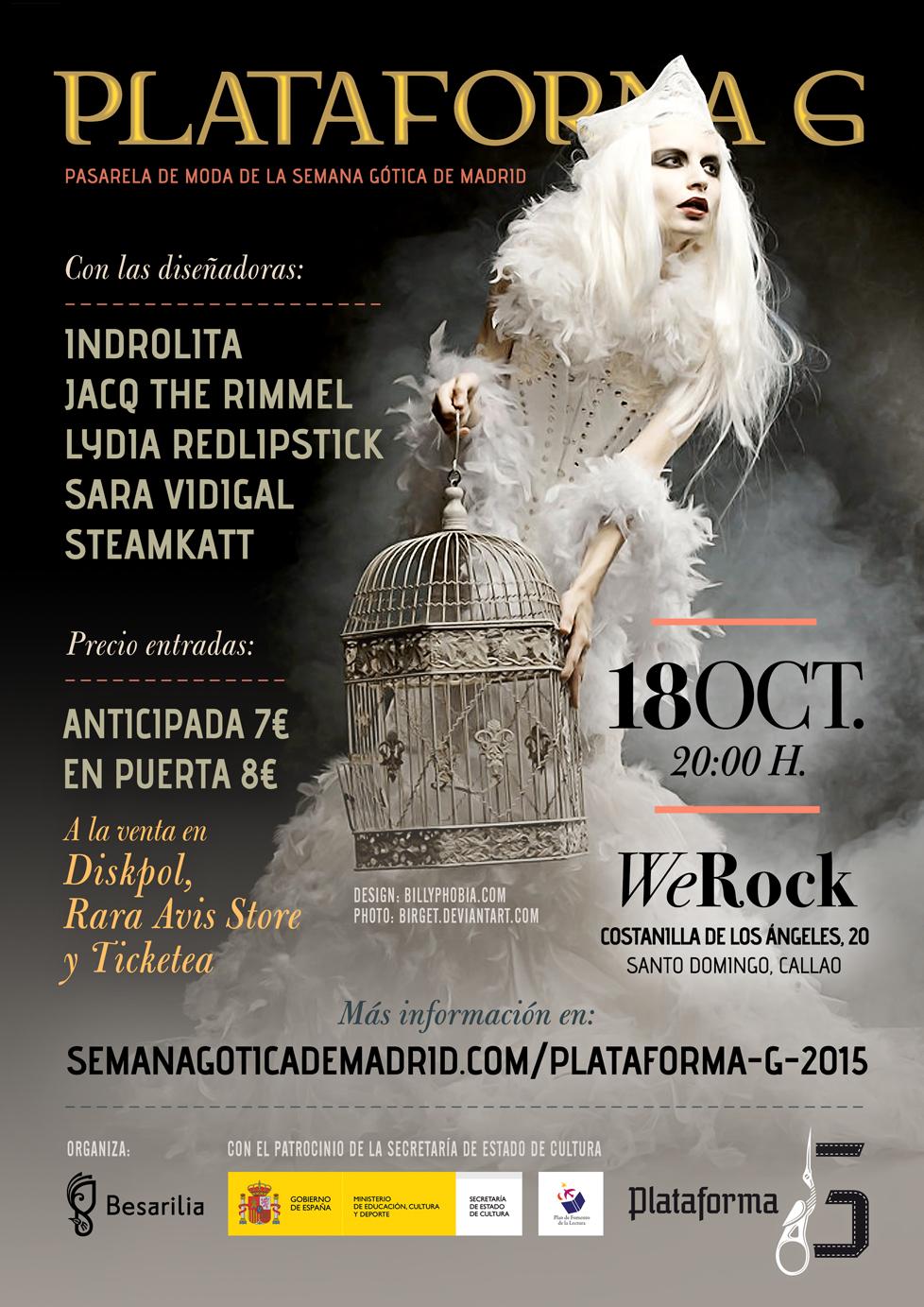 VII Edición de Plataforma G - Semana Gótica de Madrid