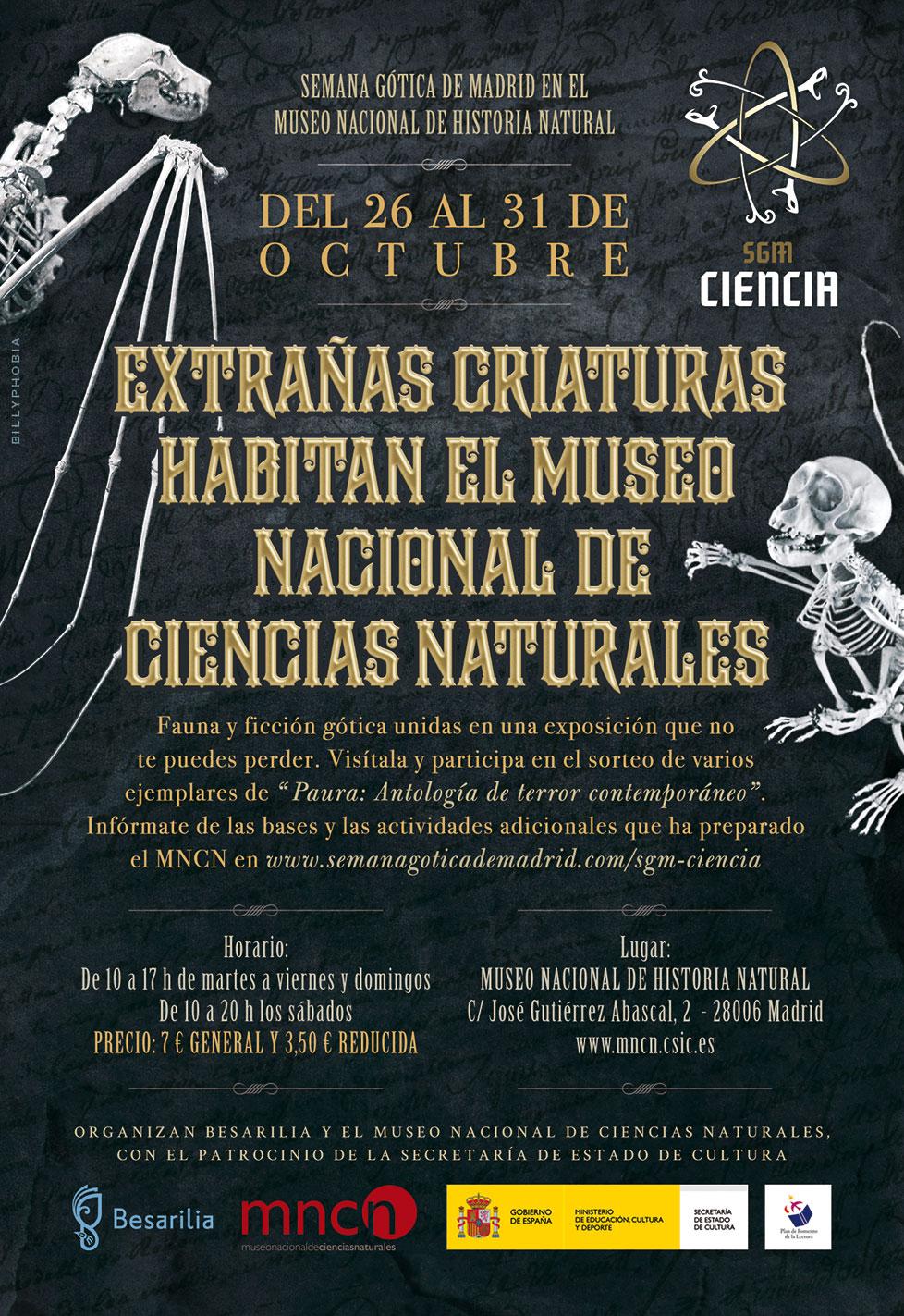 SGM Ciencia - Semana Gótica de Madrid