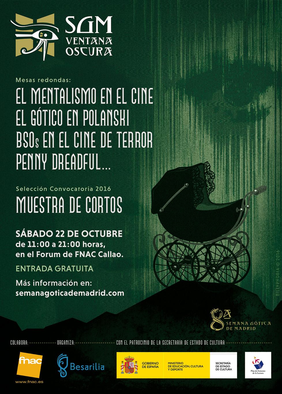 Ventana Oscura 2016 - VIII Semana Gótica de Madrid