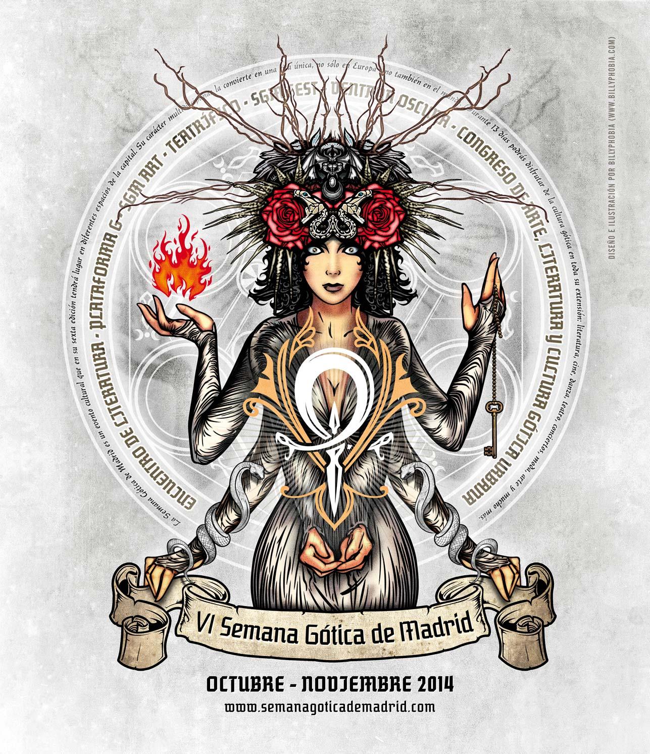 VI SGM - Semana Gótica de Madrid