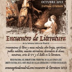 Madrid, taken by the gothic literature in October