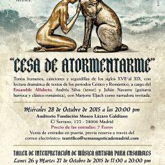 Músicos del Romanticismo en Teatrífico